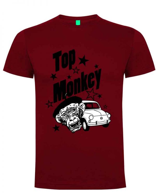 top monkey, camiseta, gas monkey ,camisetas coches, graneta ,
