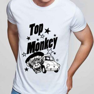 top monkey, camiseta, gas monkey ,camisetas coches, modelo ,